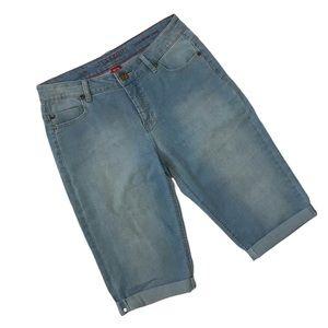 Liverpool Size 10 Julia Short Capri Stretch Jeans